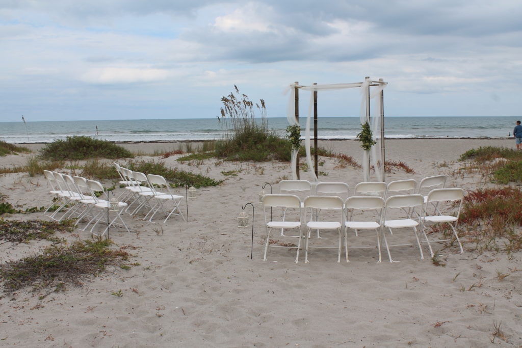 Cocoa Beach Villas beach wedding