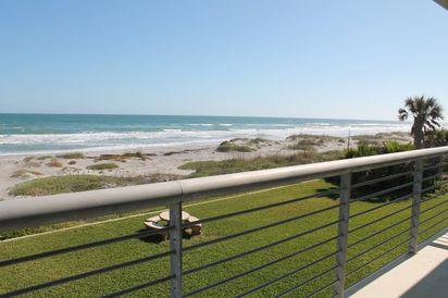 Cocoa Beach Villas Unit #3 balcony view