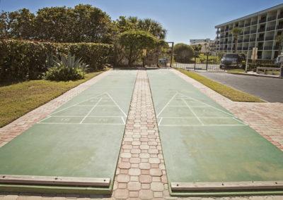 shuffle board court