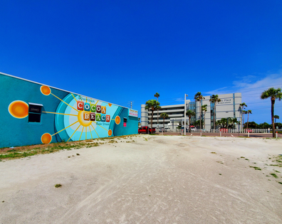 Mural in Downtown Cocoa Beach @sandyrootsphotography